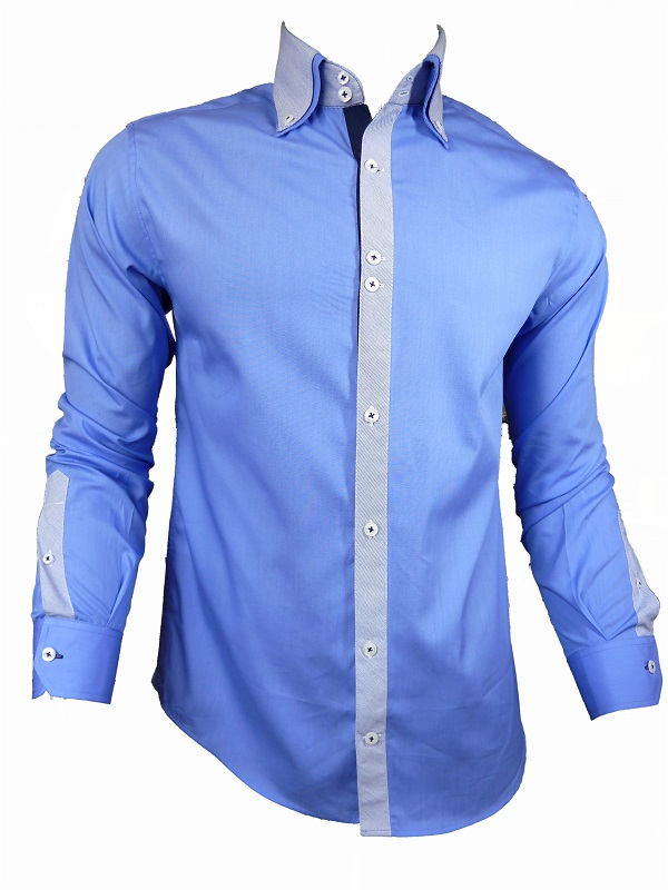 Mens casual formal stylish fitted john tungatt designer for Mens designer casual shirts sale