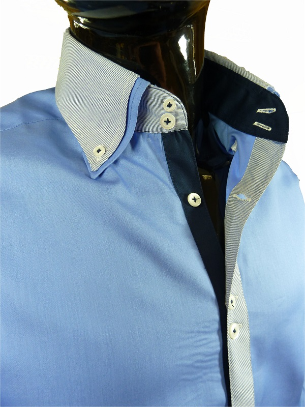 mens formal stylish fitted john tungatt designer blue
